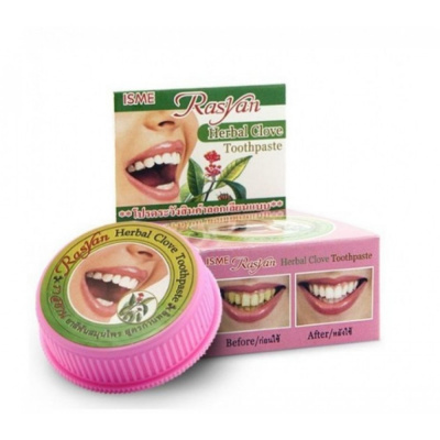 Зубная паста RasYan Herbal Clove Toothpaste ISME